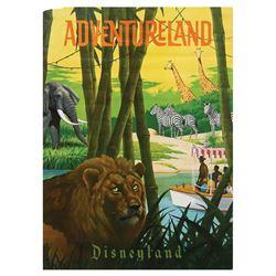 Adventureland Near Attraction Poster.