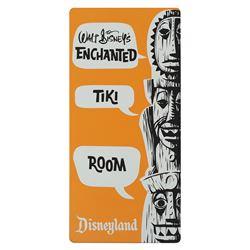 Enchanted Tiki Room Tin Sign.