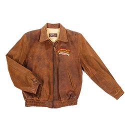 Indiana Jones Adventure Imagineering Leather Jacket.