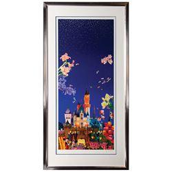 "Signed ""Night of Disneyland"" Hiro Yamagata Print."
