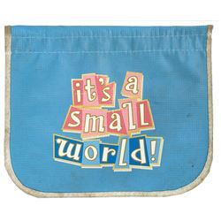 It's a Small World Crowd Control Flag.