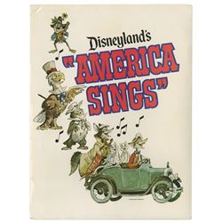 America Sings Press Kit.