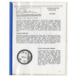 Submarine Voyage Internal Attraction Manual.