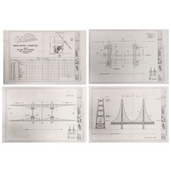 California Adventure Golden Gate Bridge Design Packet.