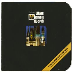 """The Story of Walt Disney World"" Book."