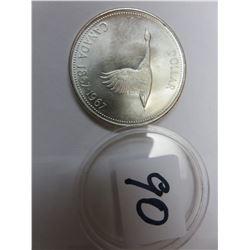 CANADA 1867-1967 SILVER DOLLAR