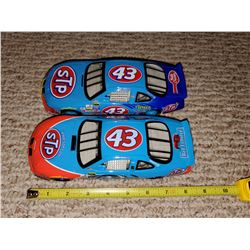TWO #43 STOCK CARS - JOHN ANDRETTI