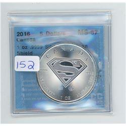 2016 - $5.00 RCM COIN CCCS