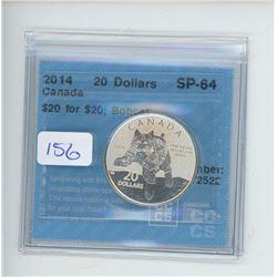 2014 - $20.00 RCM COIN - CCCS