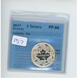 2017 - $3.00 RCM COIN CCCS