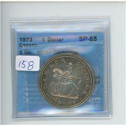 1973 - $1.00 - RCMP COIN CCCS