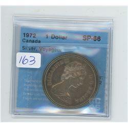 1972 - $1.00 - VOYAGEUR COIN - CCCS