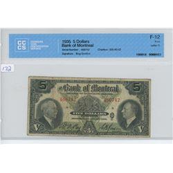1935 - $5.00 BILL - BOFM - CCCS
