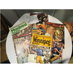 EARLY CFL MAGAZINES & SPORTS ILLUSTRATED