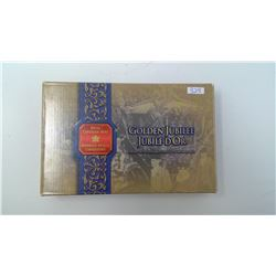 2002 GOLDEN JUBILEE SPECIAL EDITION PROOF SET, 24 KT GOLD PLATED DOLLAR
