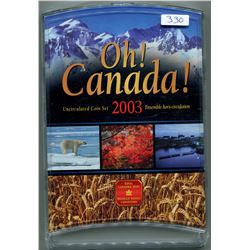 2003 OH! CANADA UNCIRCULATED COIN SET- SEALED