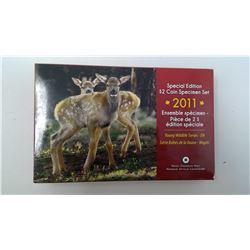 2011 RCM SPECIMEN SET - SPECIAL EDITION ELK CALF TOONIE