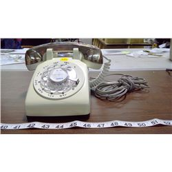 MAHER OPERABLE ROTARY DIAL TELEPHONE