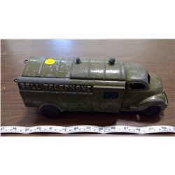 HUBLEY TOY TRUCK (BELL TELEPHONE)