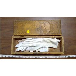 GLOVE BOX WITH GLOVES