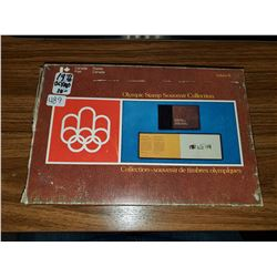 1976 OLYMPIC STAMP SOUVINIER COLLECTION