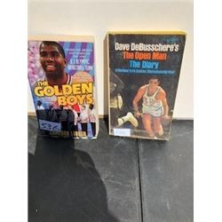 LOT OF 2 BASKETBALL BOOKS