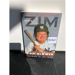 ZIM A BASEBALL LIFE BOOK