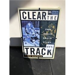 CLEAR THE TRACK HOCKEY BOOK