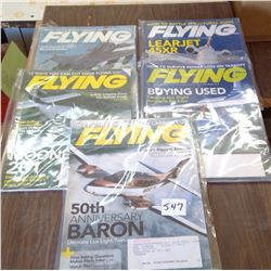 LOT OF 5 2010 FLYING MACHINES