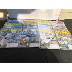 LOT OF 11 2011 FLYING MAGAZINES