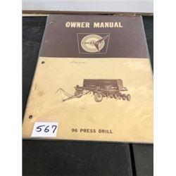 COCKSHUTT PRESS DRILL MANUAL