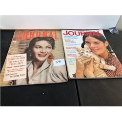 LOT OF 2 1956 & 1971 JOURNAL