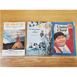 LOT OF 3 FIRST NATIONS BOOKS