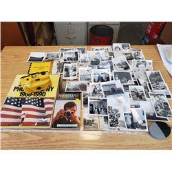 PHOTO COLLECTION, BOOK, CAMERA