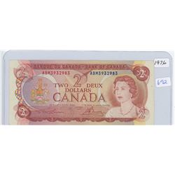 1974 Canadian Two Dollar Bank Note
