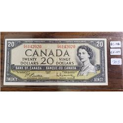 1954Canadian Twenty Dollar Bank Note