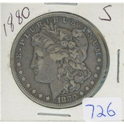 1880S MORGAN DOLLAR
