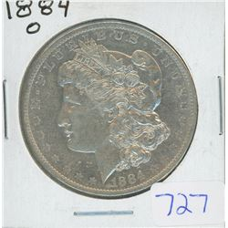 1884O MORGAN DOLLAR