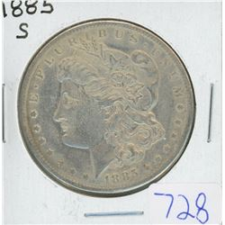1885S MORGAN DOLLAR