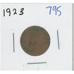 1923 CANADIAN ONE CENT
