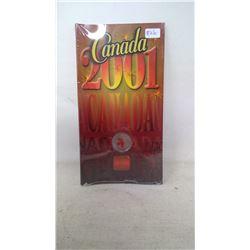 2001 CANADA ROYAL CANADIAN MINT QUARTER