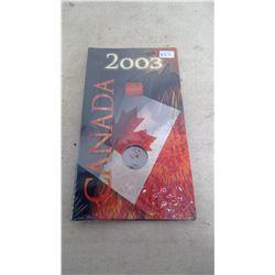 2003 ROYAL CANADIAN MINT QUARTER