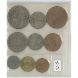 1953 COINS OF GREAT BRITAIN SET