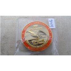 ASHLEY FURNITURE 75TH ANNIVERSARY CHALLENGE COIN