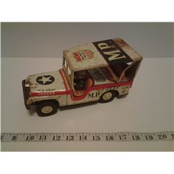 VINTAGE MP MILITARY POLICE VEHICLE W/ DRIVER