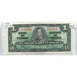 BC-21D 1937 $1.00 COYNE-TOWERS EF/AV
