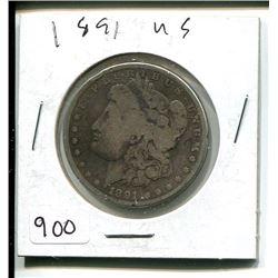 1891 U.S. DOLLAR