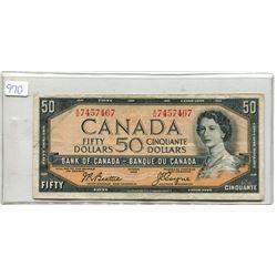 1954 $50.00 BILL