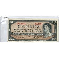 1954 $100.00 BILL
