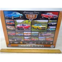 Cars from 60's Puzzle